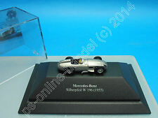 Busch 47000 Mercedes-Benz W196 Silberpfeil 1955, H0 1:87 WITH Box (X0518)