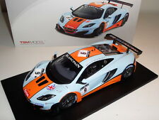 TSM 2012 McLAREN MP4 12C GT3 FIA GT1 SPA 131813R 1:18 RESIN MODEL RACE CAR