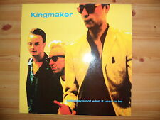 """KINGMAKER - SATURDAY'S NOT WHAT IT USED TO BE - 10"""" VINYL SINGLE"""