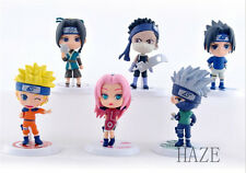 Anime Naruto Shippuden Toy Figure Figurine Doll Series G Set/6Pcs FR