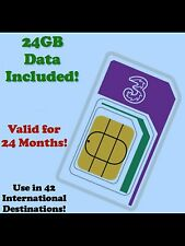 International Data Roaming SIM. 24GB Broadband 4G. USA/EUROPE/ASIA... Save £££'s
