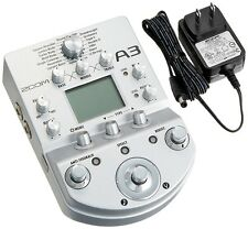 Zoom A3 Acoustic Guitar Preamp and Effects Processor JAPAN New F/S