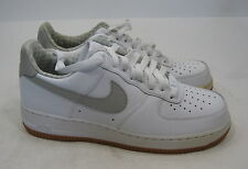 NIKE AIR FORCE 1 '07 White Tech Grey 315122-169 Khaki Brown 315122 169 Size  8.5