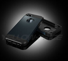 Armor Iron Man Style Shockproof Rugged Dual Layers Phone Case For iphone 5S 5