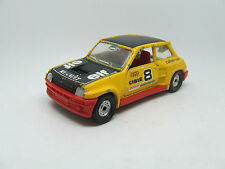 CORGI RENAULT 5 TURBO ELF RACING YELLOW BLACK ROOF 1:36 SCALE 1980 ISH