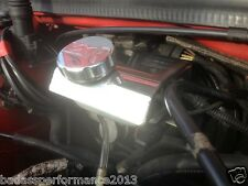 BRAKE RES COVER TO FIT ASTRA VXR MK5, POLISHED BRAKE RES COVER,ENGINE STYLING,