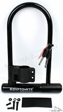 "Kryptonite Keeper 12 STD Standard 8"" x 4"" Bicycle U Lock with Side-Mount Bracket"