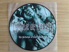 "CRADLE OF FILTH - THE PRINCIPLE OF EVIL MADE FLESH - RARO LP 33 GIRI 12"" PICTURE"