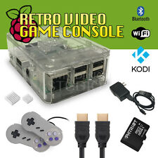 32GB Raspberry Pi Retro Gaming Emulation Console - Kodi - beats NES Classic NEW!