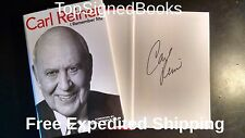 SIGNED I Remember Me by Carl Reiner, hardcover with event photos, new, autograph