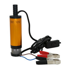 New 12V DC Diesel Fuel Water Oil Car Camping Fishing Submersible Transfer Pump