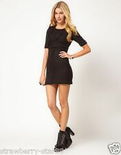 Jovonna Tweed Sexy Dress Black UK 12 EU 40 US 8 £RRP 92