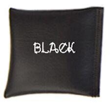 Black Square Rice Bag in Vinyl