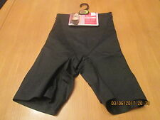 Marks & Spencer black tummy control cycling shorts light control size 8
