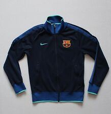 Nike FC Barcelona N98 Track Top Jacket '10-'11 Navy (382370-451) size Small