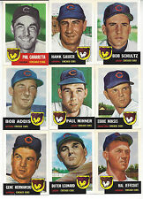 Chicago Cubs Topps 1953 Archives  Team Set 15 Players