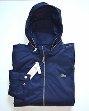 "NWT Men's Lacoste Jacket, ""Water-Repellent"" , Blue, L, Large BH2505"