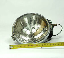 "VINTAGE Genuine WORKING LUCAS 5 3/4"" SEALED BEAM HEAD LIGHT/ SPOT LAMP x1 (2)"