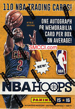2015 2016 Hoops Basketball Sealed Blaster Box Packs EXCLUSIVE Autographs Jerseys