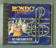 Rondo Veneziano  cd  SCARAMUCCE  © 1982 first press SANYO JAPAN # 610 193-222