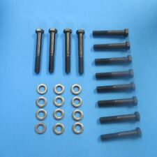 NEW 1957 Chevy Belair Ramhorn Exhaust Manifold Bolt Set. (CORRECT OE STYLE)