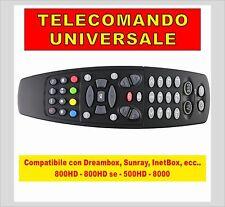 TELECOMANDO COMPATIBILE DREAMBOX SUNRAY NEWDVB 800 800SE 8000