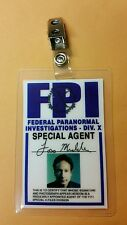 X-files TV Series ID Badge-Fox Mulder Miniseries costume prop cosplay