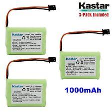 3 x 3.6V 1000mAh Cordless Phone Battery for Uniden BT-446 BT446 BT-1005 BT1005