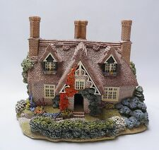 Lilliput Lane Saffron House + Original Box + Deeds