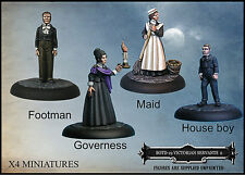 WESTWIND productions empire of the dead victorian serviteurs set 2 bnib freeuk p&p