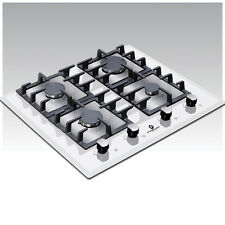 Premier Range 60cm 4 Ring White Glass Built-In Gas FSD Hob D-Series Pro