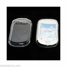 custodia in silicone antiurto tpu Cover per ALCATEL OT 908 TRASPARENTE