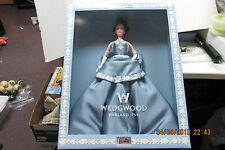 2000 Barbie Wedgwood England Doll Blue Dress  Limited Edition    NRFB