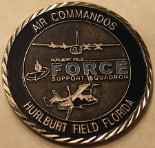 1st Special Operations Forces Support Sq Hurlburt Field Air Force Challenge Coin