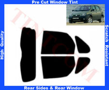 Pre Cut Window Tint Renault Scenic RX4 00-03 Rear Window & Rear Sides Any Shade