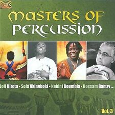 Various Artists-V 3: Masters Of Percussion CD NEW