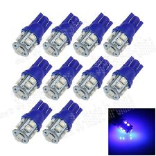 10X Car Ultra Blue 10 LED 1210 SMD T10 W5W Bulb Wedge Side Light Bulb Lamp A026