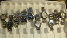 TRADE ONLY JOB LOT OF 10 X  MIXED HEAD WATCHES 100% GEN,. BEAT THIS ??