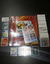PANINI WC SOUTH AFRICA 2010 - EMPTY ALBUM + CPL STICKERS SET + 80 EXTRASTICKERS