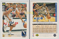 NBA UPPER DECK 1994 COLLECTOR'S CHOICE - Dennis Scott # 81 Ita/Eng MINT