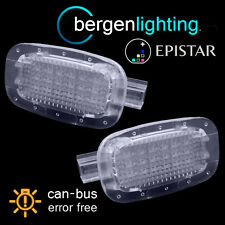 FOR MERCEDES A B C E G GL GLK CLK CLASS 8 LED INTERIOR FOOTWELL BOOT DOOR LAMPS