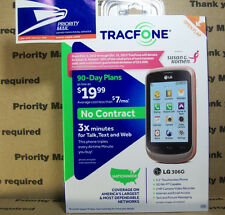 USPS PM        Pink Tracfone LG 306G  GSM w/sim card  Triple MINUTES forever