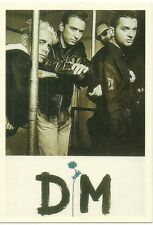 RARE / CARTE POSTALE - POSTCARD : DEPECHE MODE  / COMME NEUF - LIKE NEW