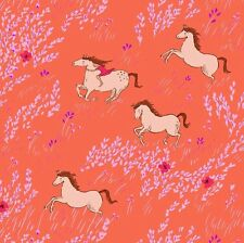 Wee wander- Summer ride - Michael Miller - horse fabric