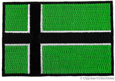 VINLAND FLAG iron-on PATCH - TYPE O NEGATIVE VIKING NEW embroidered GREEN NORDIC