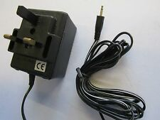 5.5V UK Mains AC-DC Adaptor Power Supply with 2.5mm Male Headphone Jack Plug