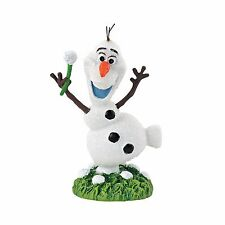 4048966 Dept 56 Disney Frozen Village Figure Olaf  NIB