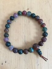 BLOODSTONE GEMSTONE POWER BRACELET CRYSTAL JEWELLERY NEW AGE HEALING REIKI