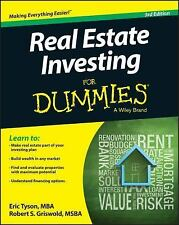 Real Estate Investing for Dummies by Eric Tyson and Griswold (2015, E-book)