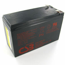 CSB 12v 7.2Ah Sealed Lead Acid OEM Replacement Battery GP1272 F2